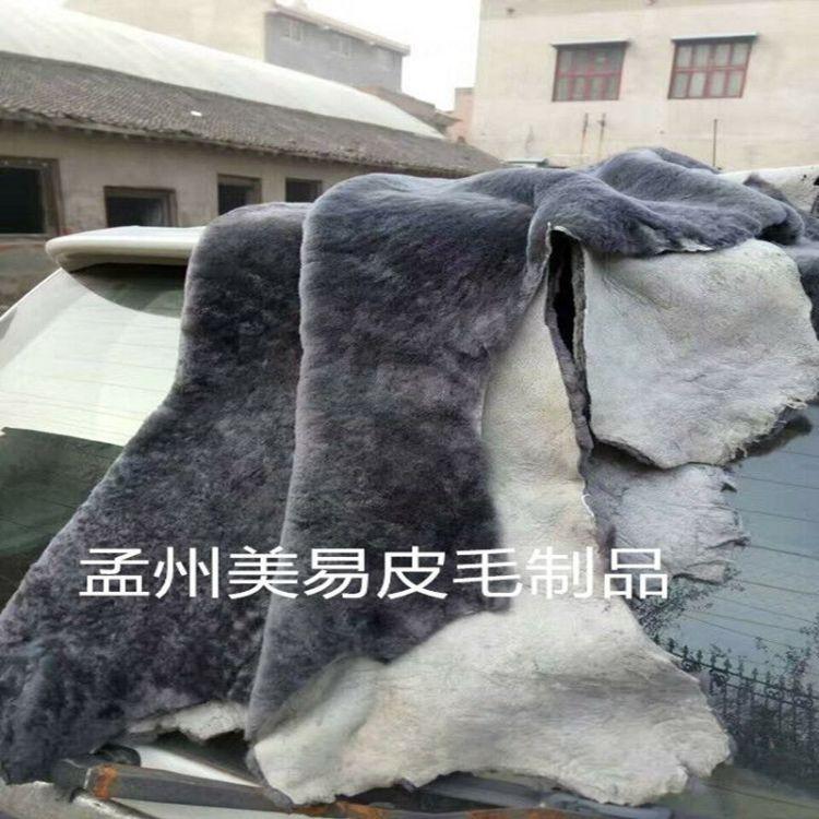 澳洲羊皮毛一体羊剪绒碎花水波纹服装真皮毛各种色样厂家直销批发