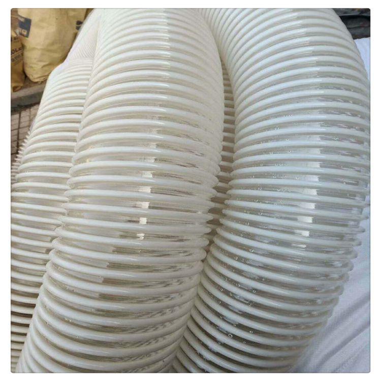 厂家直销 高耐磨耐磨PU通风管 吸尘管 粉尘车间专用软管 质量保证
