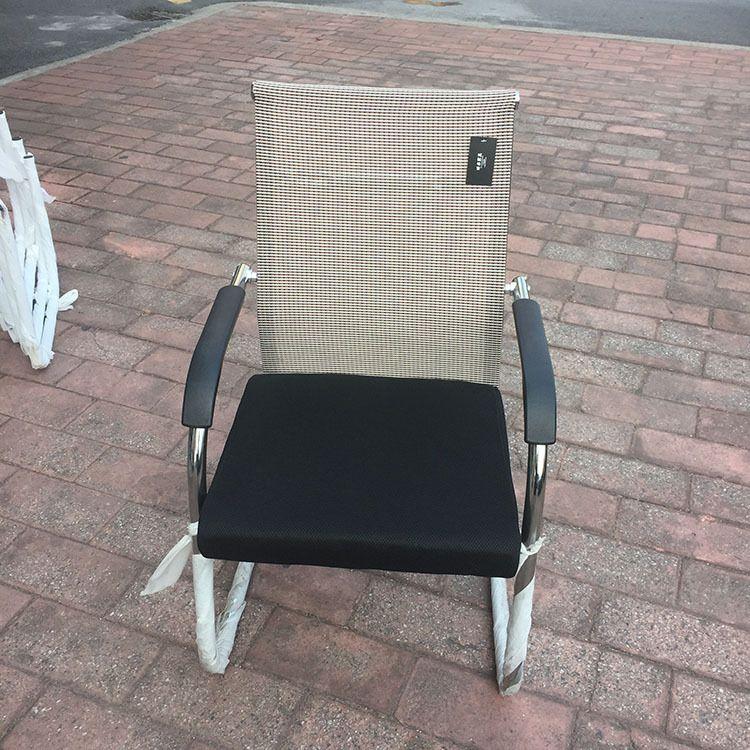 贵阳固定脚办公椅电脑椅弓形家用椅子网布职员椅办公靠背椅会议椅