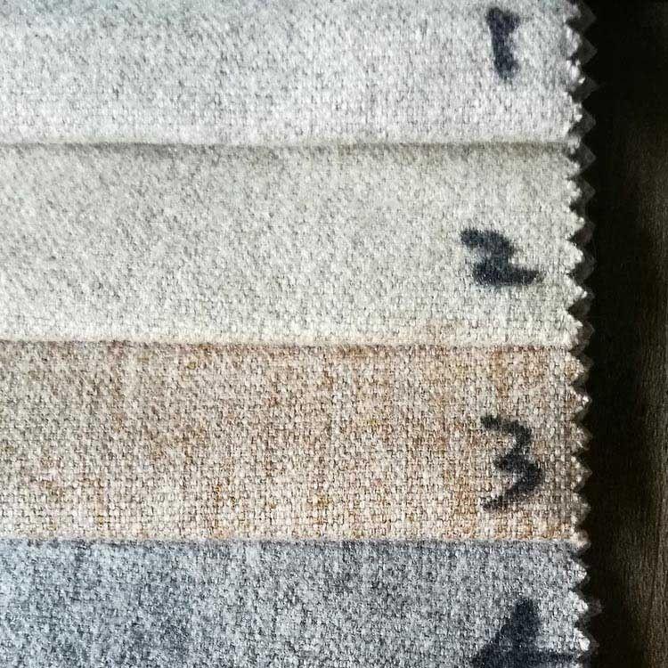 现货特价沙发麻布沙发套垫子单色厂家直销工程软包加厚亚麻布批发