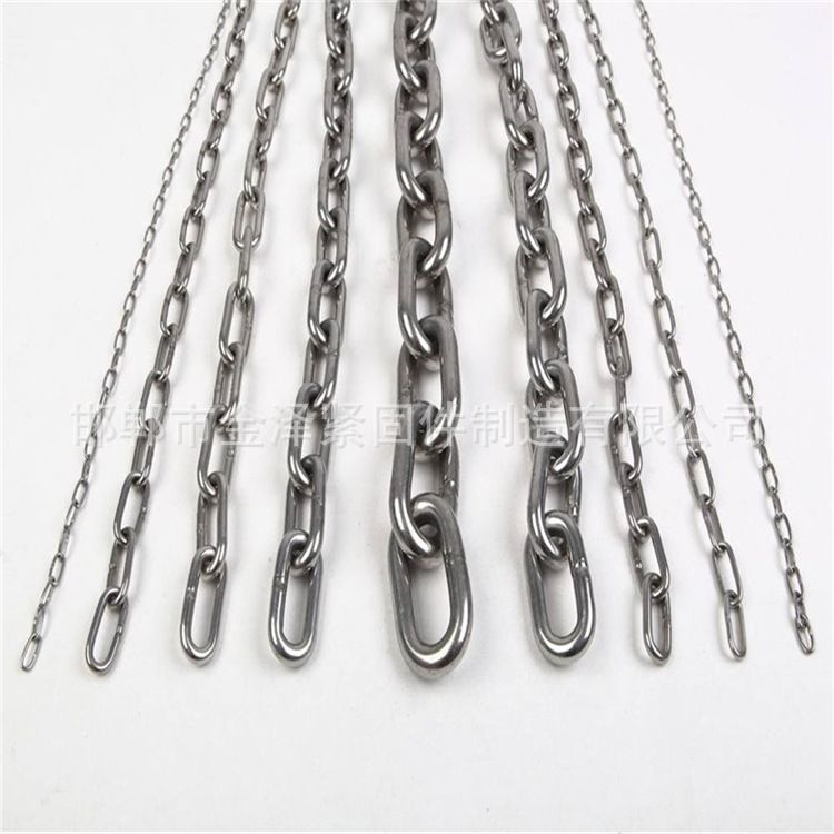 厂家直销五金工具国标镀锌链条  轻型重型链条 定做加工
