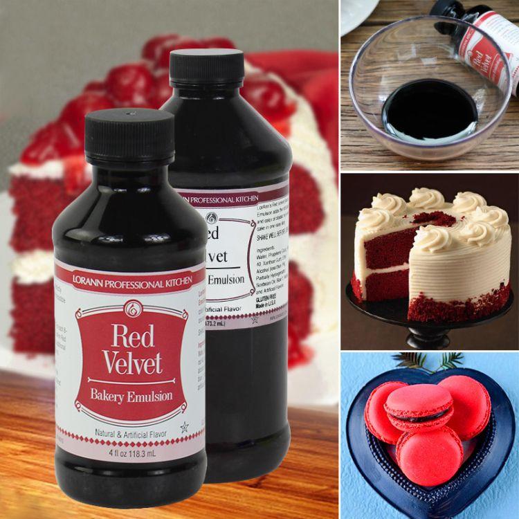 美国Lorann Red Velvet红丝绒蛋糕色素 香精调味剂 蛋糕裱花原料