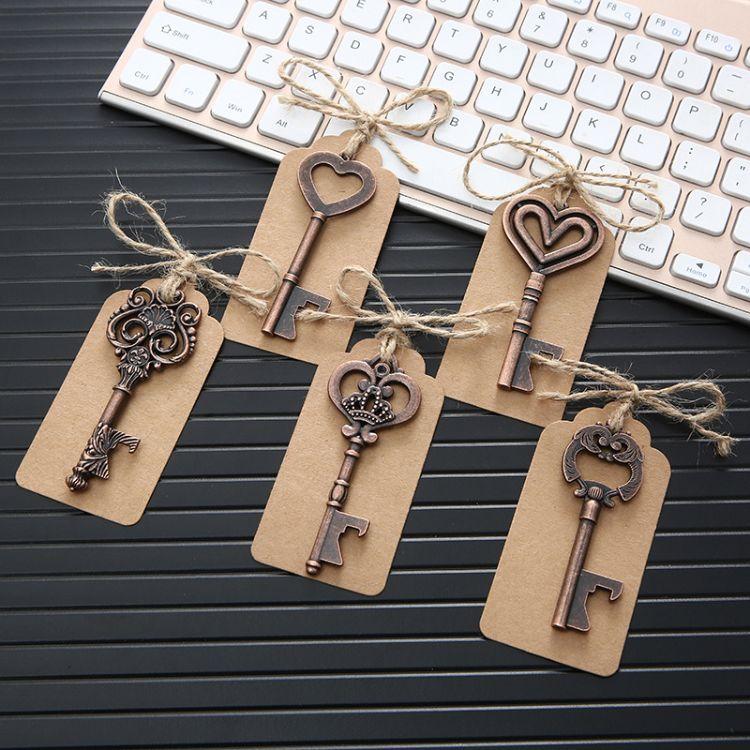 复古钥匙吊坠项链 锌合金个性配件男女钥匙扣配饰 厂家直销