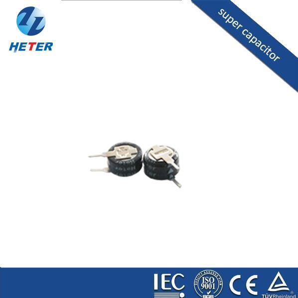 厂家供应超级电容器、法拉电容 5.5V0.33 F V型