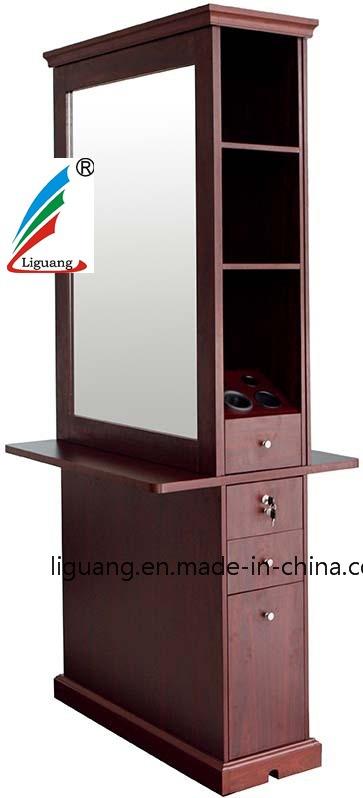 发廊专用双面高档镜台美发造型镜子 高档大气 方形美发镜