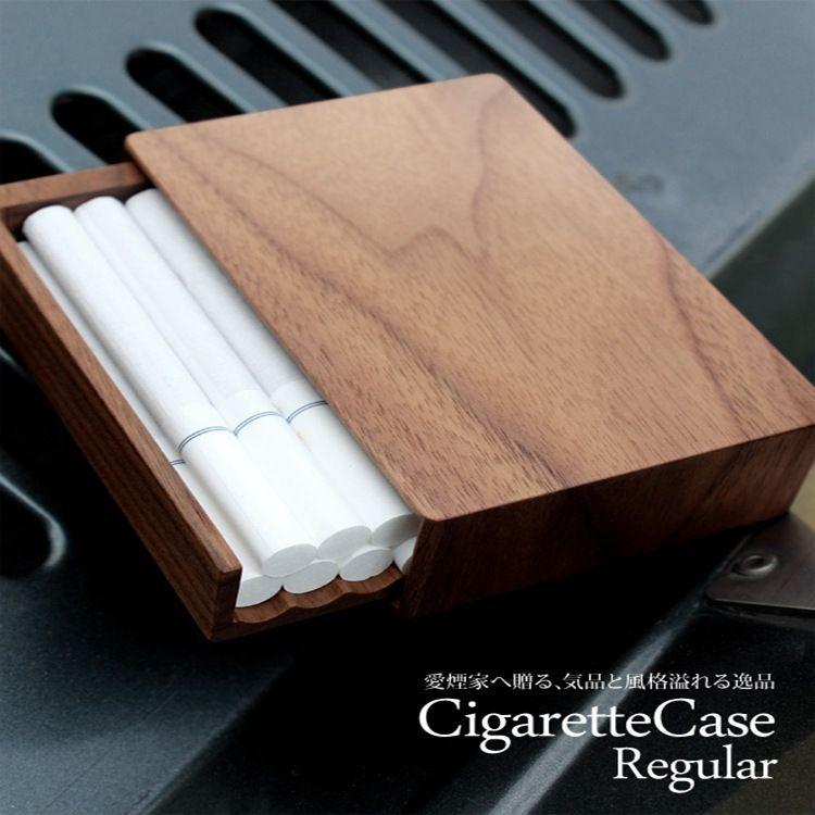 熊兴原创实木香烟盒20支装创意木质烟盒整包烟烟盒可定制品牌logo