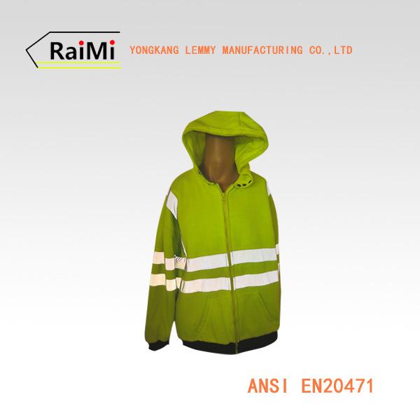 A-SAFETY 夜间专用 出口达标 休闲运动反光卫衣反光衣