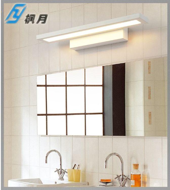 现代简约亚克力LED镜前灯柜前灯画灯洗手台灯挂画装饰灯