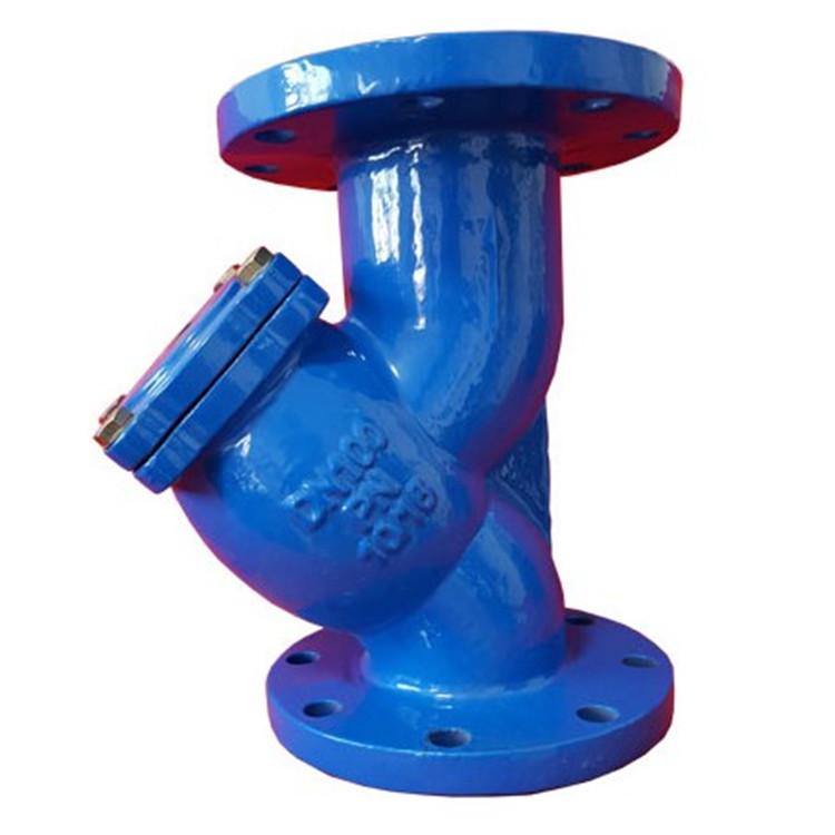 GL41H过滤器直销 Y型除污器 200目滤网过滤器 大流量法兰过滤器