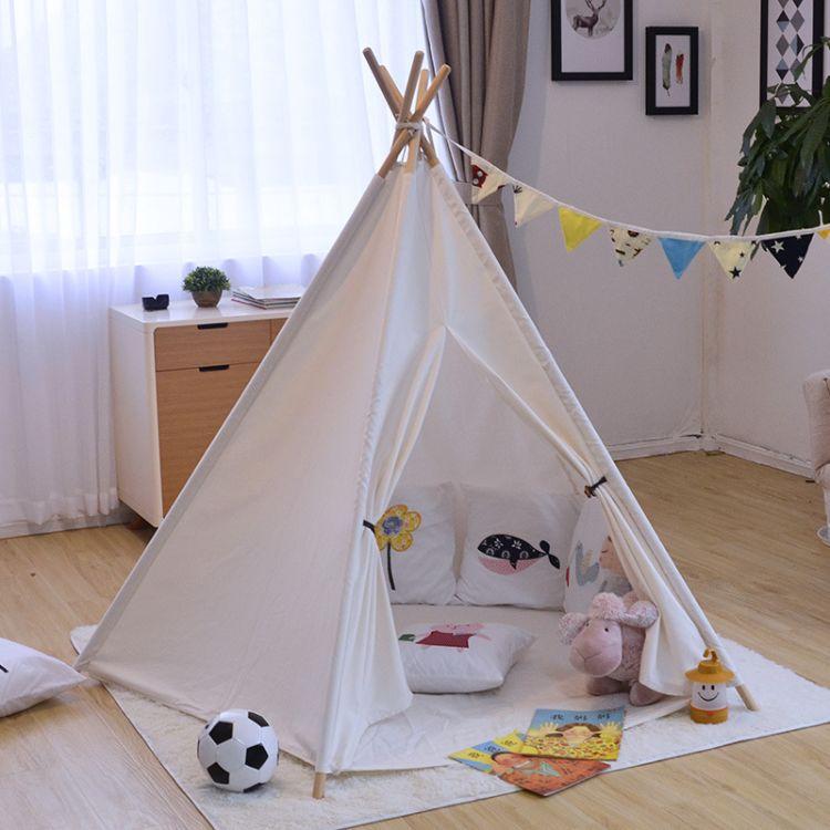 儿童帐篷超大空间游戏屋五角 宝宝过家家室内玩具屋 户外摄影帐篷