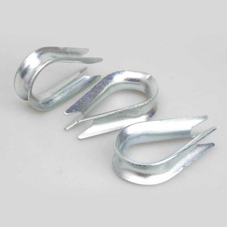厂家直销 国标镀锌钢丝绳鸡心环鸡心环套环型号齐全现货供应
