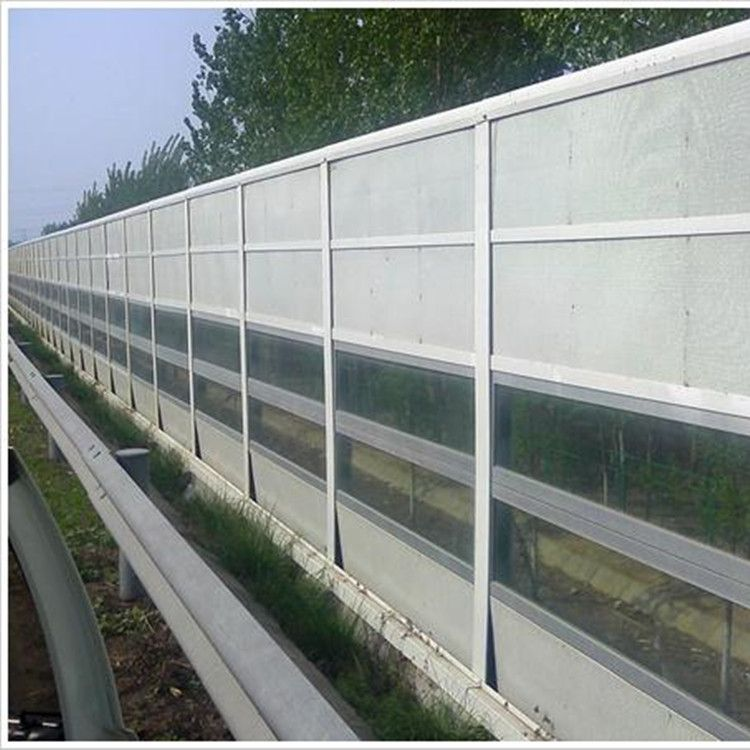 厂家直销百叶孔楼顶空调机组声屏障道路公路金属声屏障规格齐全