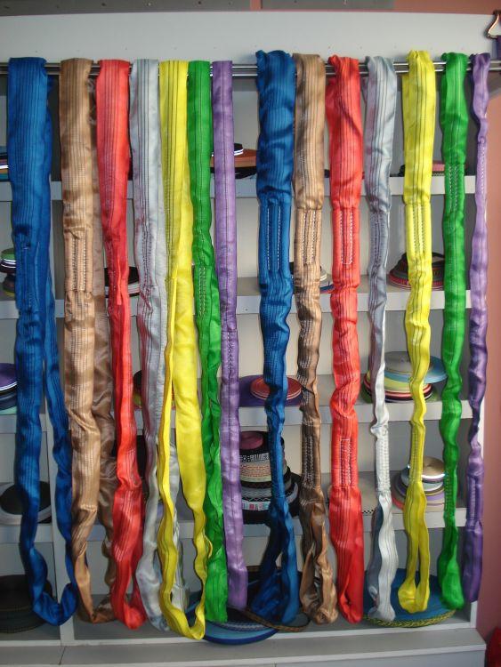 圆圈形圆套吊带 优质高强涤纶丝 圆圈型,双层涤纶编织护套