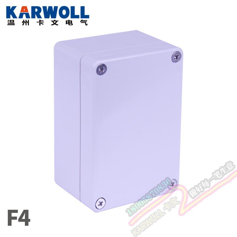 塑料防水接线盒100*68*50mm监控防水箱ABS分线端子盒电源集线箱盒