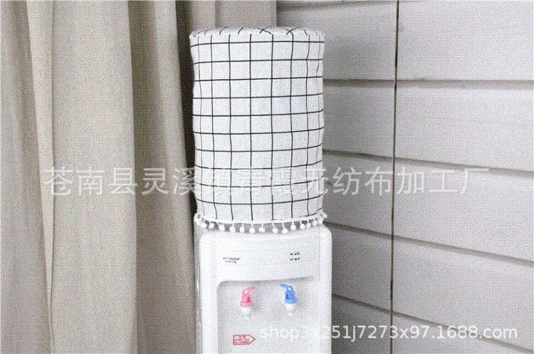 厂家定做 棉布通用饮水机罩饮水机套 防尘套子防尘罩子 可印LOGO