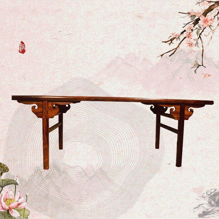 供桌香案佛桌 大叶黄花梨供案台神台条案 中式玄关桌