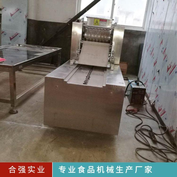 酥性饼干托盘机 桃酥生产设备 桃酥糕饼托盘机 饼干机生产线