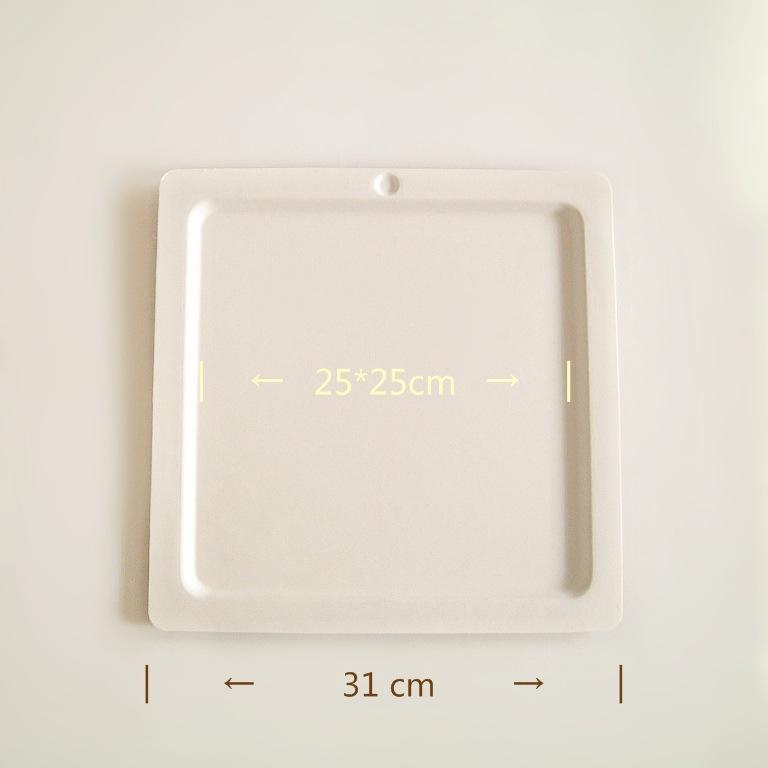 益光包装 掌柜推荐10寸蛋糕托蛋糕盒 底托甘蔗浆纸托 烘焙装食品级纸浆托盘
