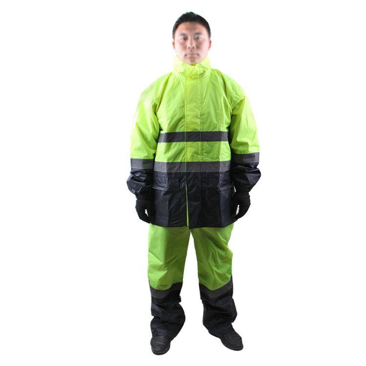 3M反光雨衣R2911/R2912 高可视安全警示服 交通安全防水反光服
