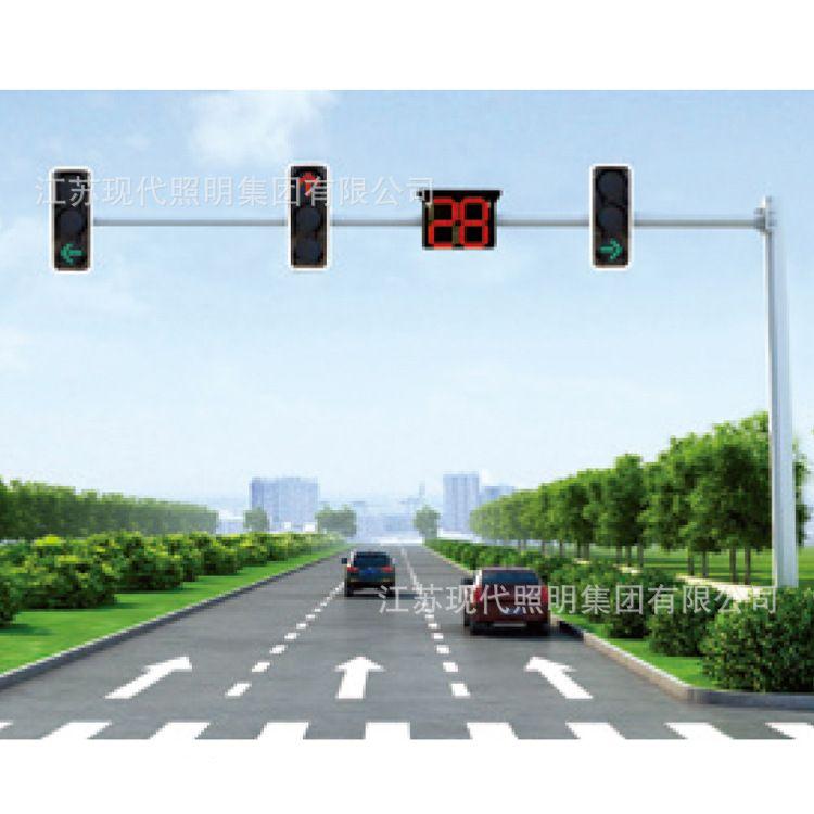厂家直销 交通信号灯 太阳能信号灯 led交通灯太阳能一体化路灯头