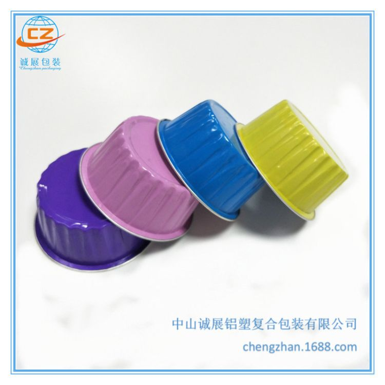 125毫升一次性碗食品包装可密封甜品杯 可封口鲜炖燕窝铝箔杯