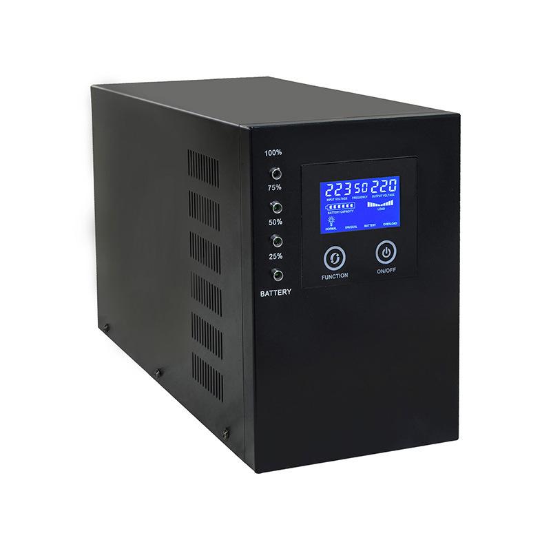 厂家直销 1000W 12V转220V 太阳能逆控一体机 / 家用太阳能发电机
