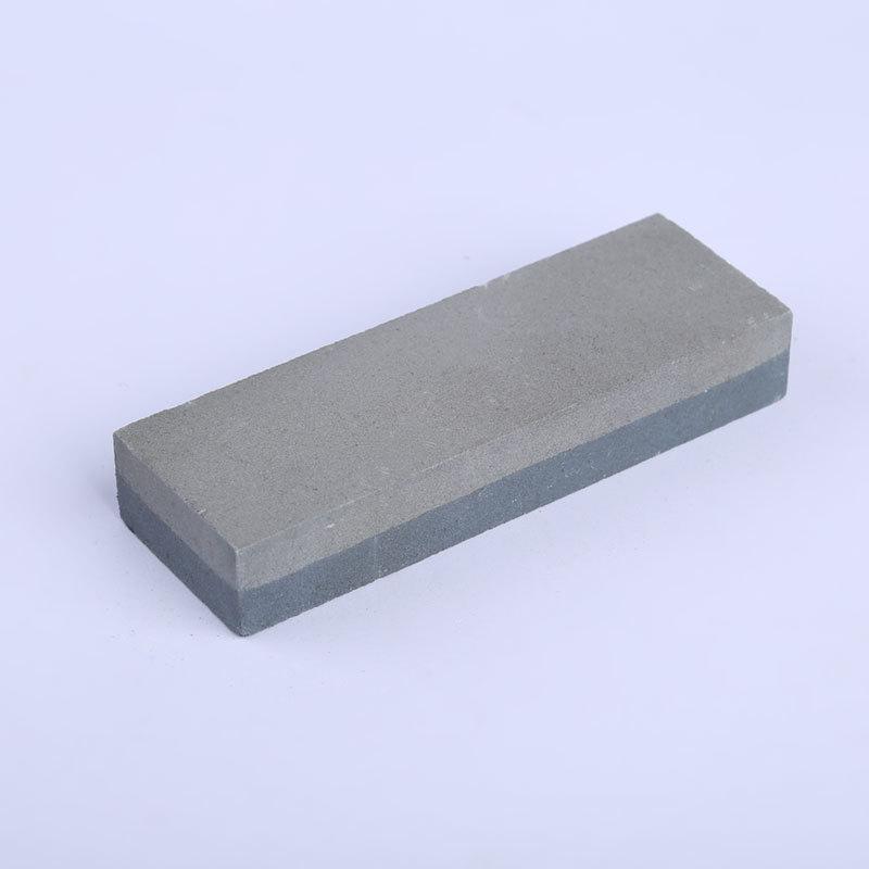 厂家批发油石磨刀石双面油石免烧油石出口油石六寸油石粗细双面