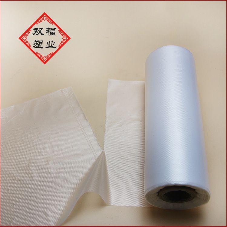 现货批发全新料塑料连卷袋 超市手撕袋 透明散称购物袋 可定制