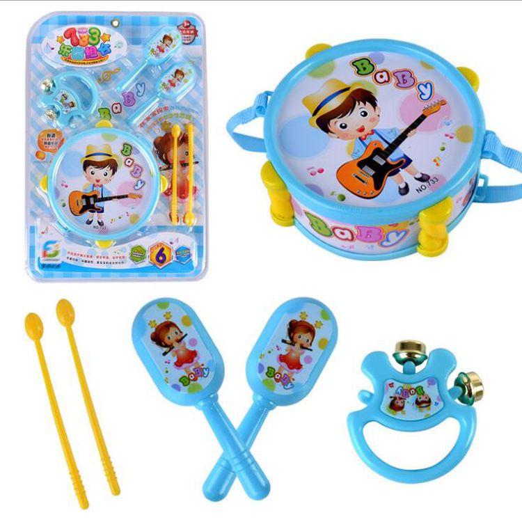 新品乐器玩具套装 儿童拍拍鼓组合 爵士鼓 益智早教玩具批发