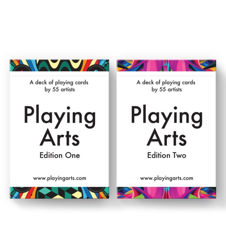 汇奇扑克 DD Playing Arts 艺术家时尚插画v1v2 美国进口扑克纸牌