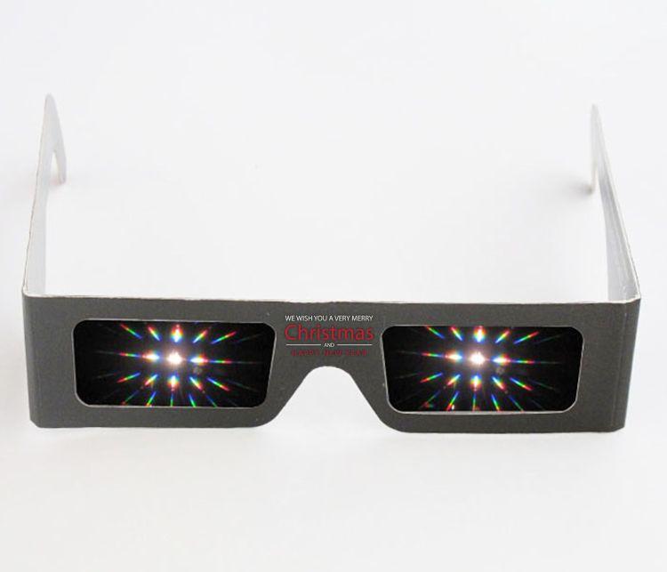 专业生产 3D眼镜纸质烟花眼镜批发 按客户图案要求印刷
