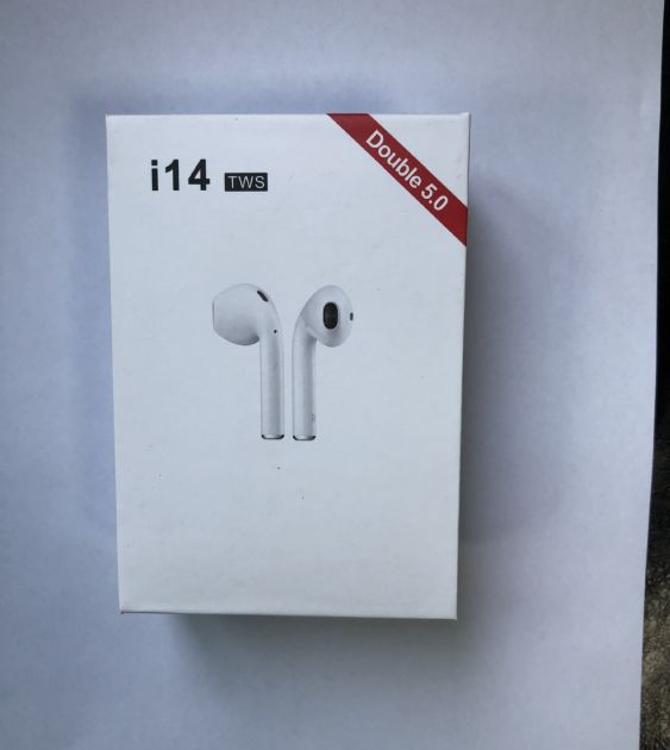 适用于TWS蓝牙耳机 i14升级版 苹果安卓通用 可定制品牌