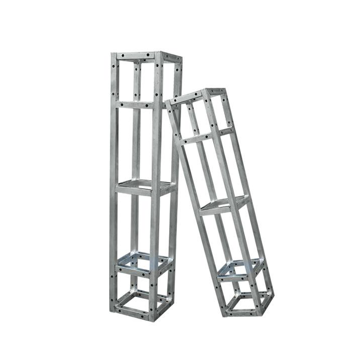 朝维供应 桁架舞台桁架背景架广告行架婚庆折叠雷亚舞台架子镀锌航架