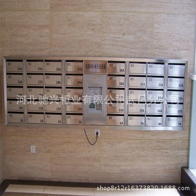 长期供应 不锈钢意见箱  家居信报箱 小区定制信报箱