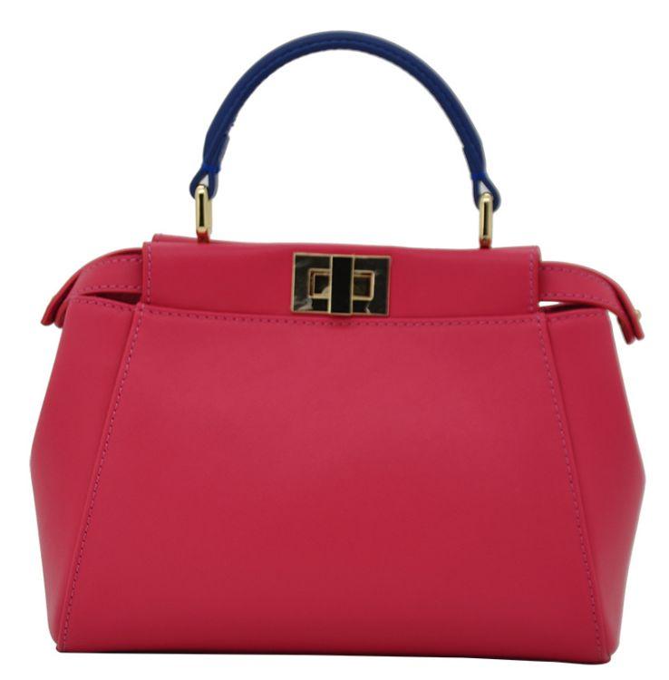 厂家定制女包 手提斜跨包真皮手袋皮包 恩典上市公司直销皮包