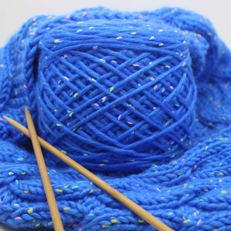 雪花绒 多股棉围巾线  珍珠手编毛线 粗毛线 厂家直销优惠销售
