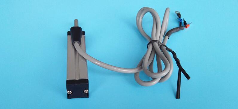 厂家直销微型直线位移传感器 5-25mm回弹电子尺 SKRD自复位传感器