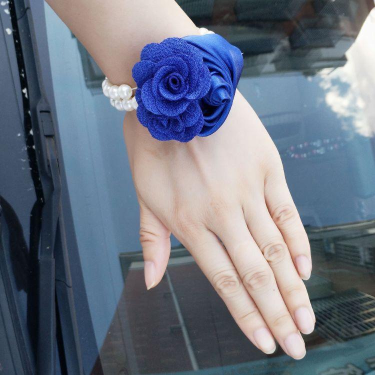 欧式结婚襟花新娘新郎胸花父母伴郎伴娘手腕花胸花婚庆用品SW0600