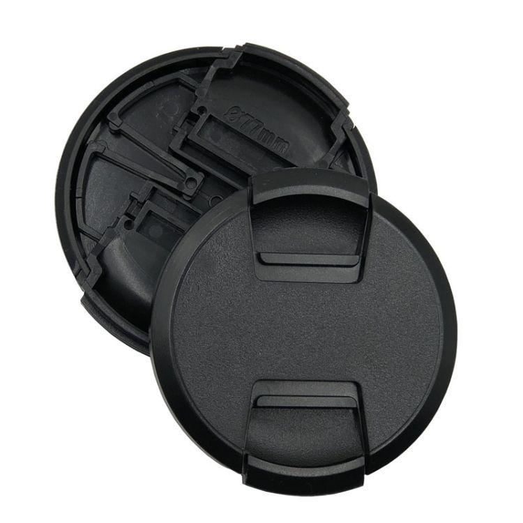 单反相机镜头盖通用无字镜头盖防尘盖无标相机镜头保护盖鏡頭蓋
