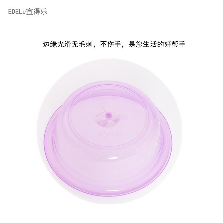 抖音同款婴儿宝宝洗脚盆成人 加厚圆形透明洗脸盆彩色水晶塑料盆