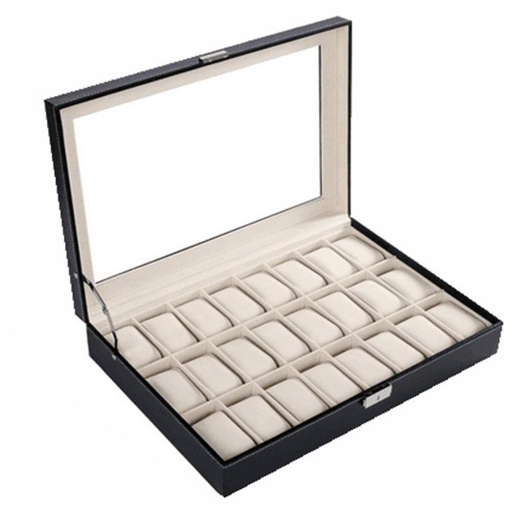 欧式 24位手表盒 手表盒 珠宝盒 首饰盒 现货