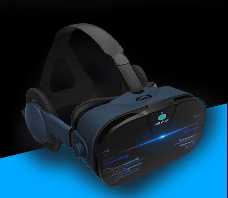 FIIT 2F VR眼镜手机3D虚拟现实眼镜头戴式3D头盔自带耳机现货热卖