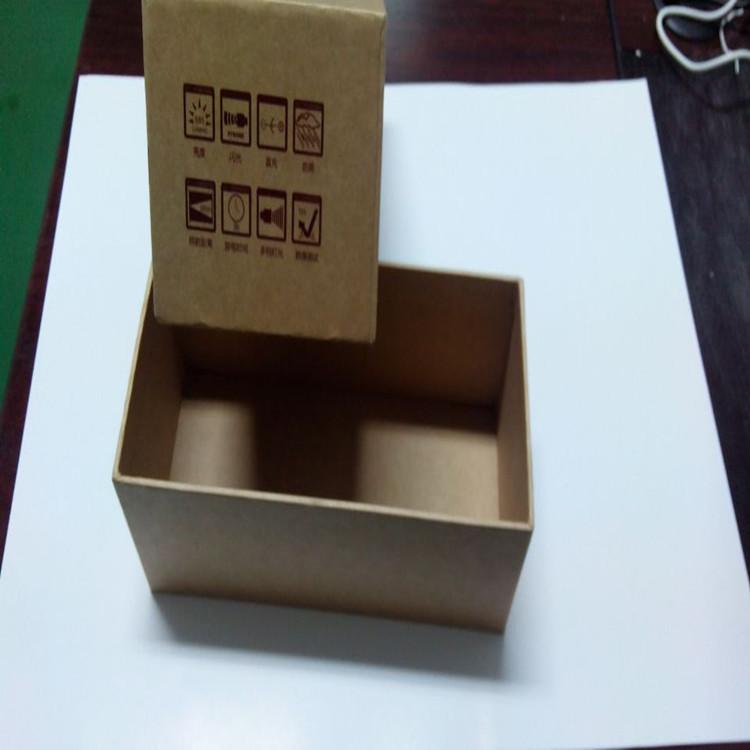 厂家订制手电包装盒天地盖牛皮纸盒折叠礼品包装纸盒定做