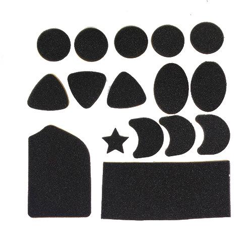 厂家定制异形EVA自粘胶自粘泡棉垫防滑EVA脚垫减震泡棉垫环保泡棉