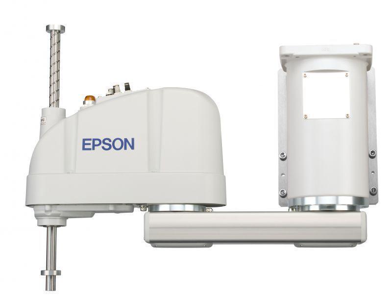 3轴工业机器人助力汽车配件自动化设备-EPSON水平关节机器人