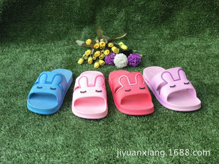 女士卡通拖鞋 可爱兔子拖鞋舒适耐磨 居家拖鞋 厂家直销