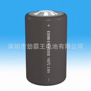 锂亚ER14250S高温电池 耐高温150度石油钻井钻头智能设备电池