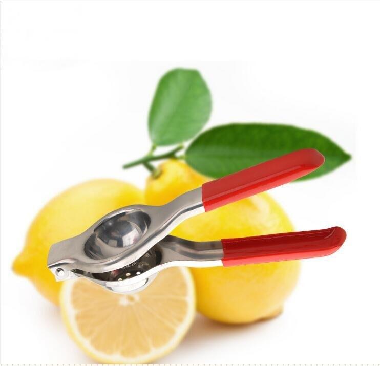 不锈钢手动柠檬榨汁机家用厨具柠檬夹子橙子挤压汁器 天然榨汁器