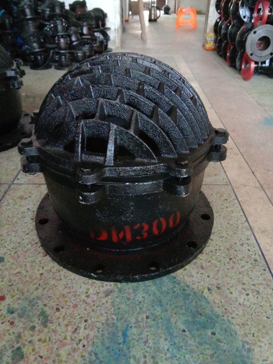 升降式铸铁国标底阀H42X-10/6 DN500平底止回底阀 高质量水泵阀门