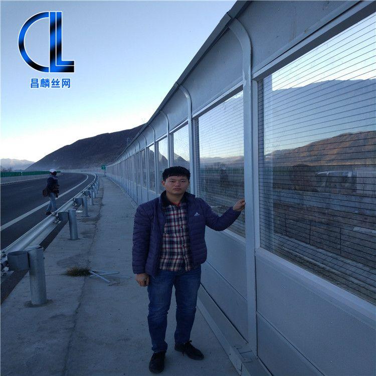 昌麟公司 铁路声屏障 高架桥声屏障 隔音声屏障 隔声屏障 空调机组隔音屏障